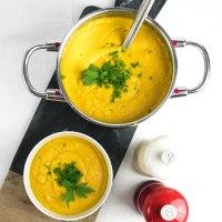 Kürbissuppe mit Kokosmilch - ein leckeres Herbstrezept