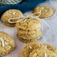 Mandelmus - Kokos - Cookies| Schnell, einfach, lecker