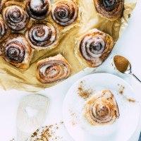 Zimtschnecken mit Honig-Glasur| Rezept für die Adventzeit